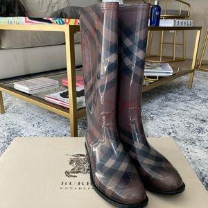 Burberry Rain Boots - Tall